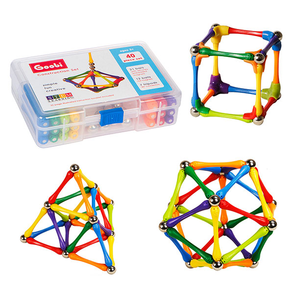 Goobi 40 - Magnetic Construction Set