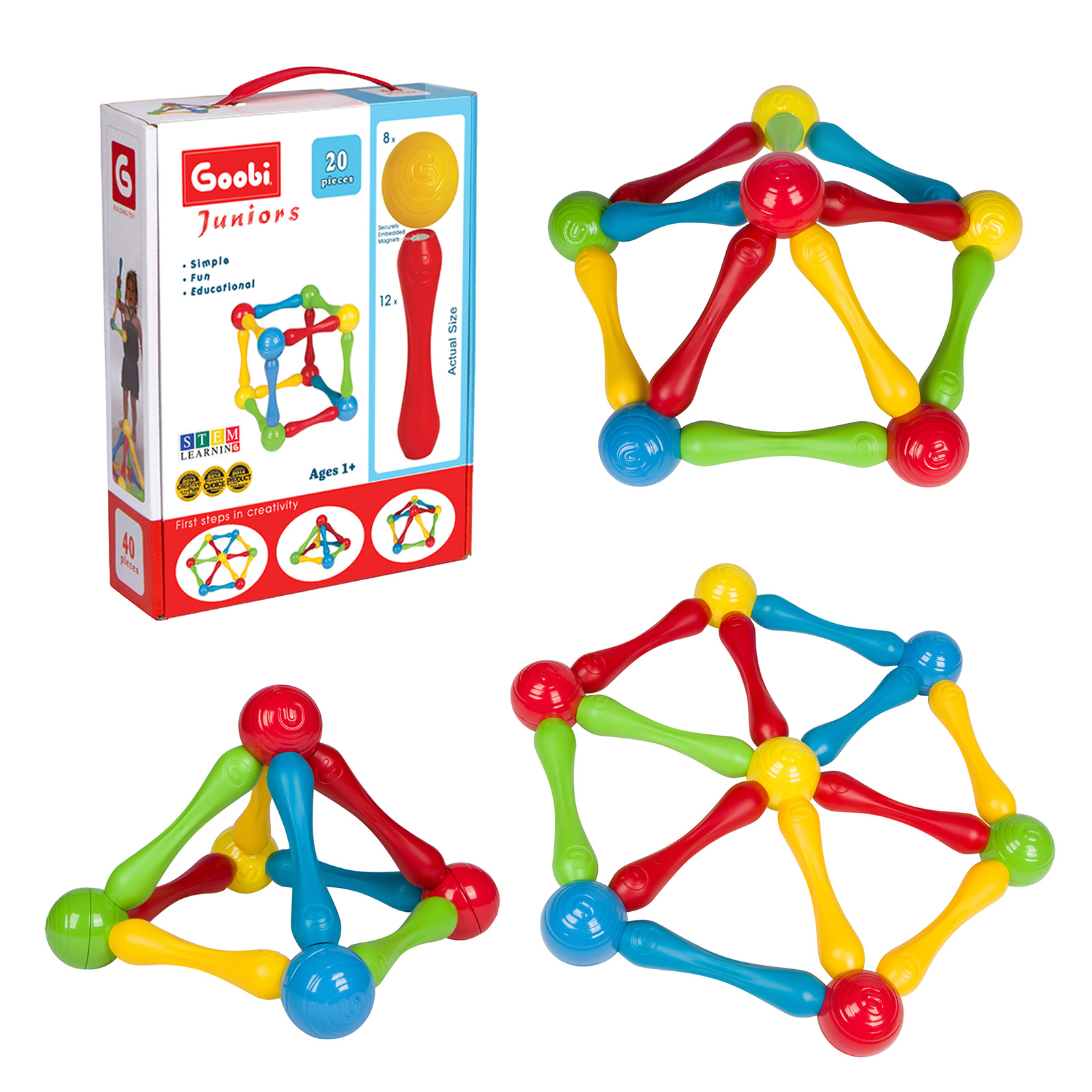 Goobi Juniors-20 for Ages 1+